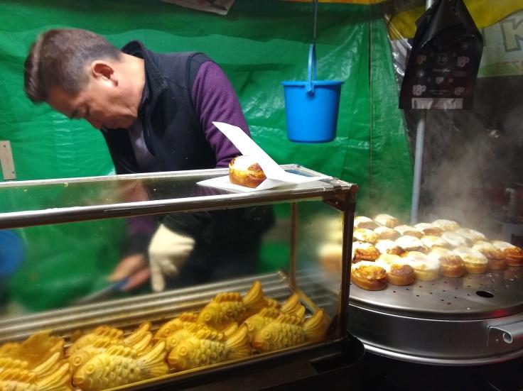 Street food in Seoul, South Korea